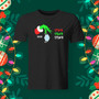 Unisex tee, black, apparel, Christmas, Holiday, 2020, funny, Grinch.