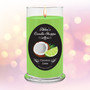 Coconut, Lime, tropical, sweet scented, candle, home decor, gift, jar, jar candle, fragrant, classic