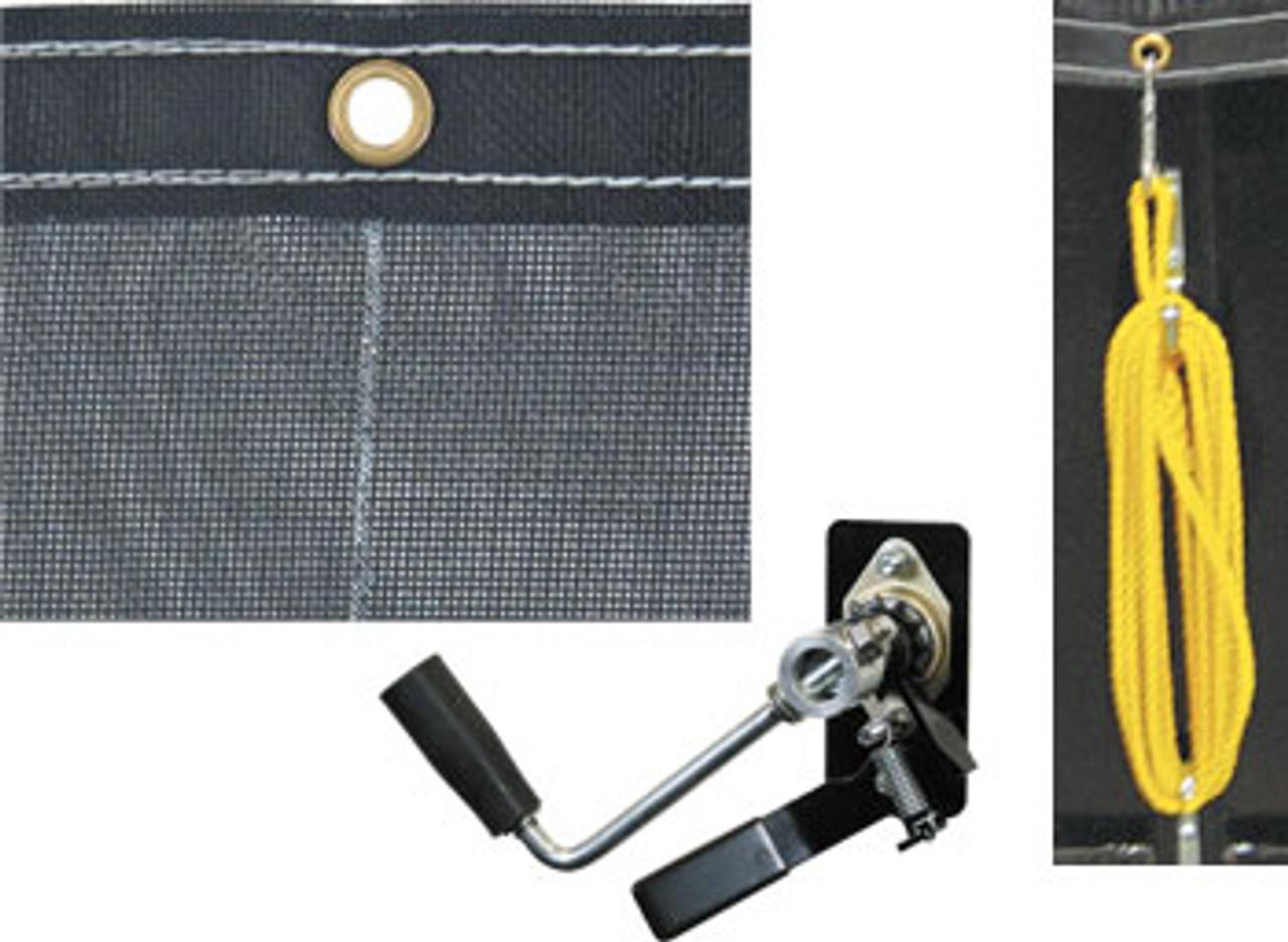 Dump Tarp 5' x 12' Mesh w/Hardware Kit