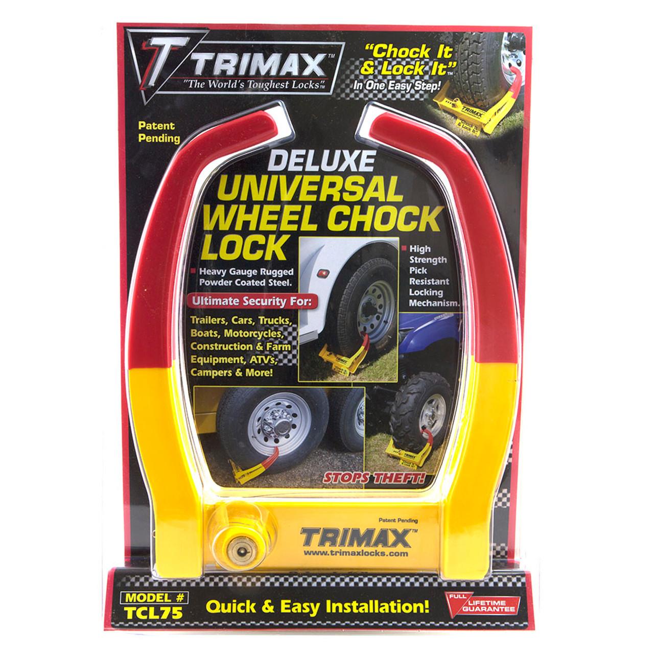 Universal Wheel Chock Lock