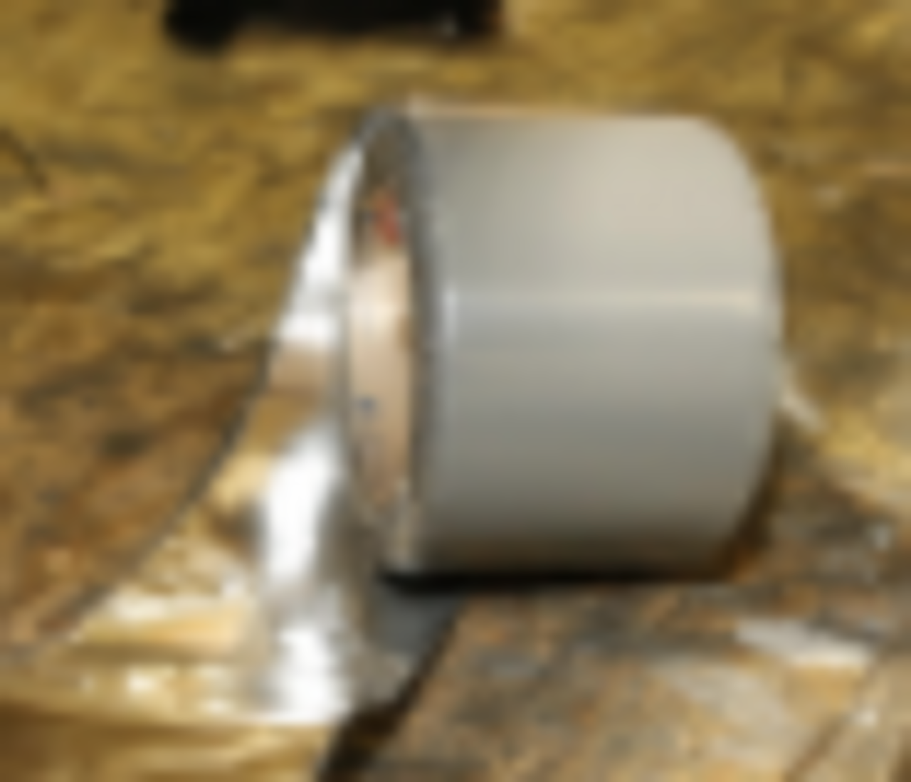 """Tape Roof 3""""x 30mil Adhesive with HD .008 Aluminum Backing(per foot)"""