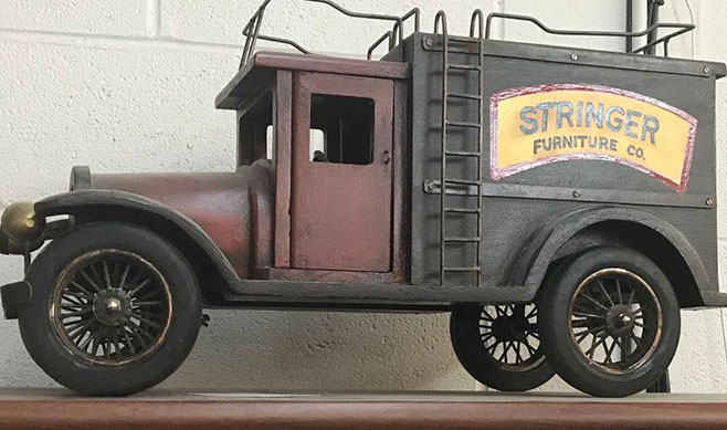 Stringer Furniture Truck