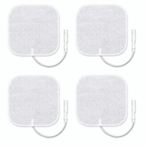 "Replacement Electrodes Deluxe Size 2""x2"" (4 pcs.)"