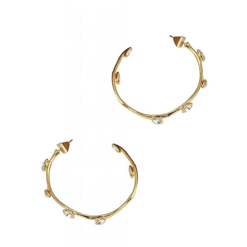 """Elysian"" Hoop Earring Gold"