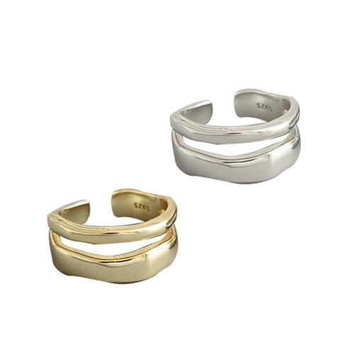 """""""OPEN ROAD"""" STACKABLE RING"""