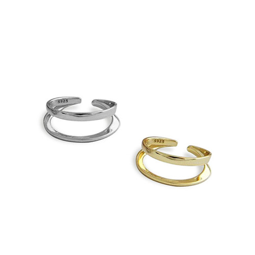"""""""TWO SIDES"""" STACKABLE RING"""
