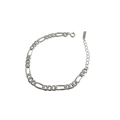 """Figaro"" Chain Link Bracelet"