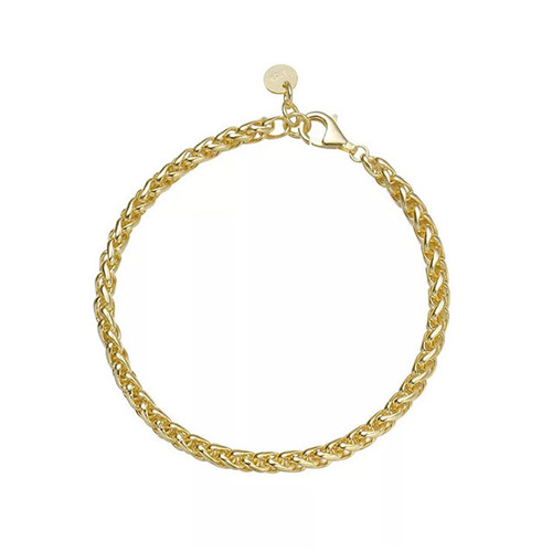 """""""THROUGH THICK AND THIN"""" CHAIN BRACELET GOLD"""