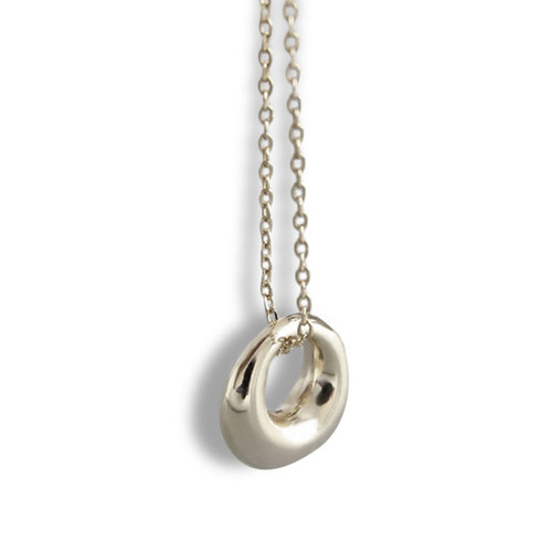 """""""Infinity"""" Circle Pendant Necklace"""