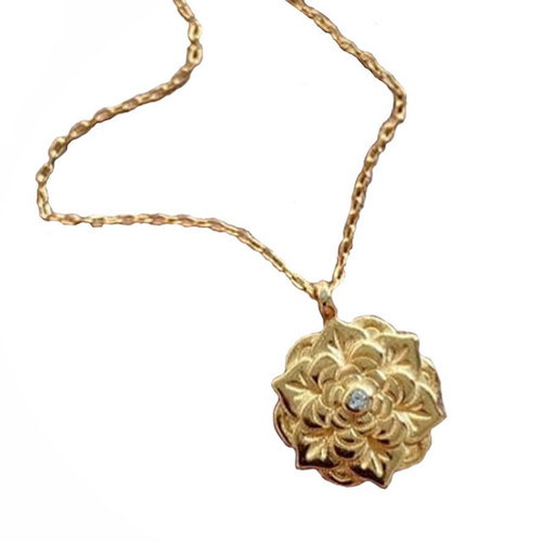 "LOTUS FLOWER ""PURITY"" NECKLACE GOLD"