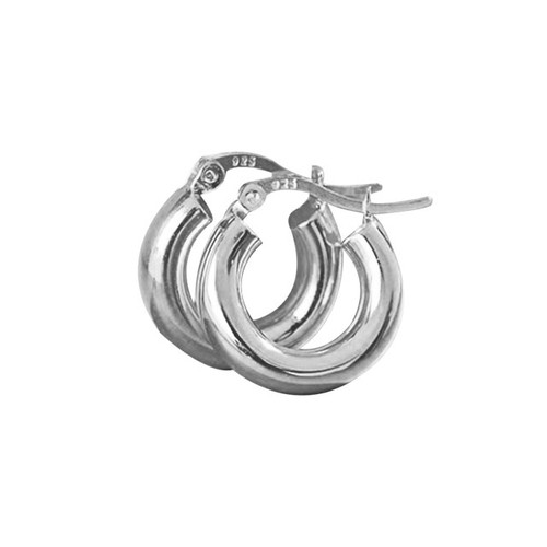 """Strength"" Thick Hoop Earring"