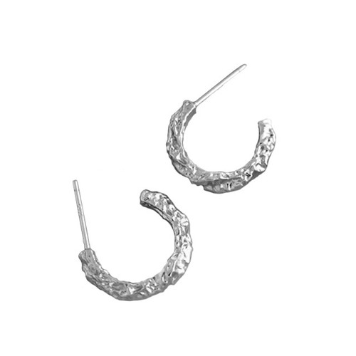"""Open Road"" Hoop Earring"