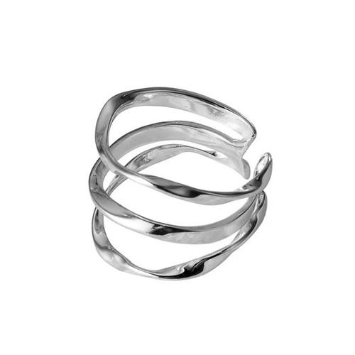 """""""Ukiyo"""" Three Layer Ring"""
