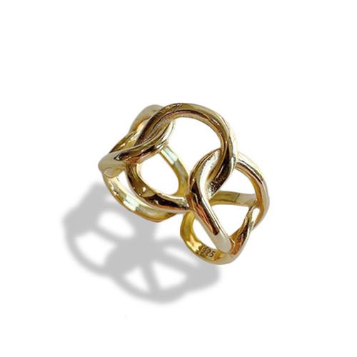 """""""Vagary"""" Ring Gold"""