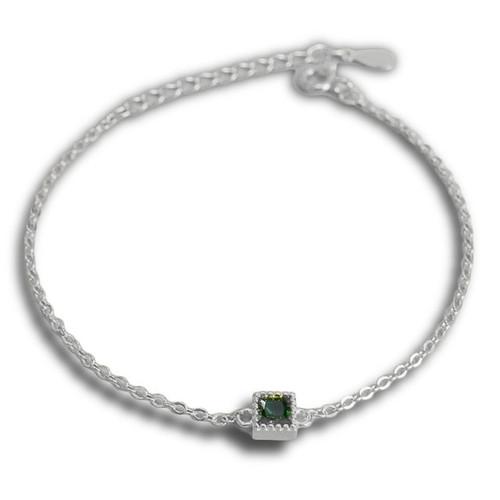 """""""Balance and Harmony"""" Emerald Stone Bracelet"""