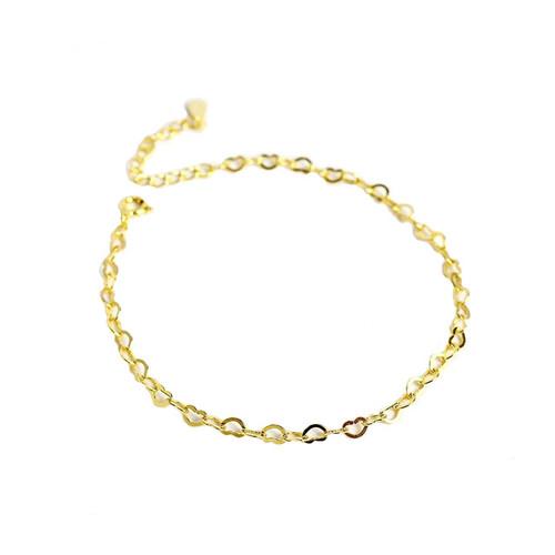 """Koinoyokan"" Heart Link Bracelet"