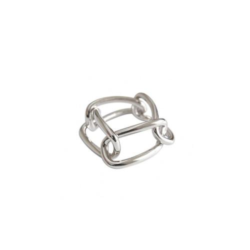 """Jomo"" Chain Link Ring"