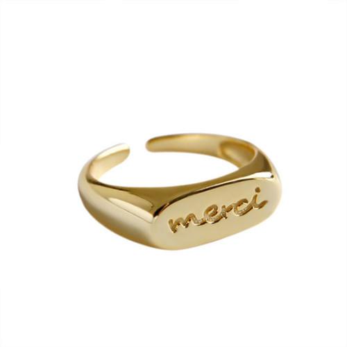 """""""Merci"""" Ring"""