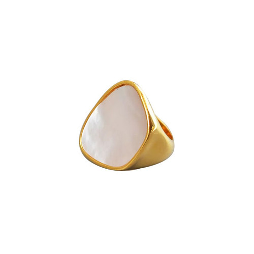 """Draiocht"" Ring Gold"