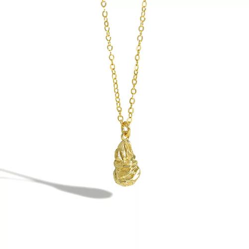 Rock Pendant Necklace