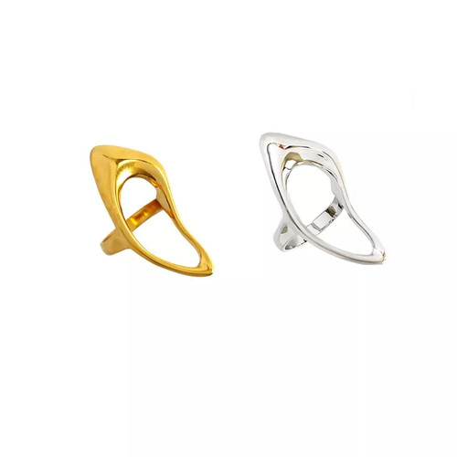 Rhombic Hollow Ring