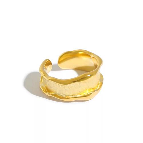 Irregular Brushed Ring