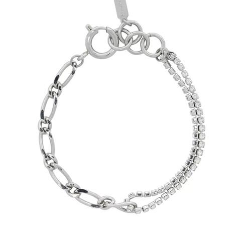 Triple Chain Bracelet Silver