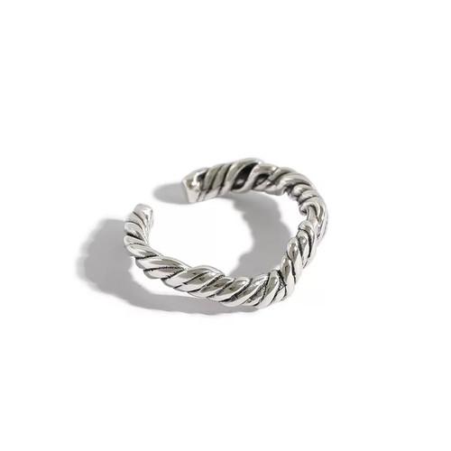 Vine Wrap Ring Silver