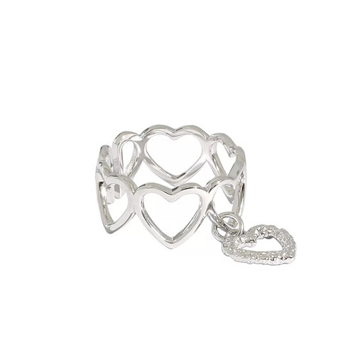 With Love Heart Ring