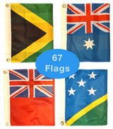 Circumnavigation Courtesy Flag Set