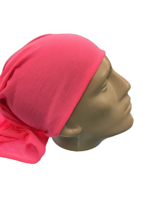 PINK HEADWEAR/MASK