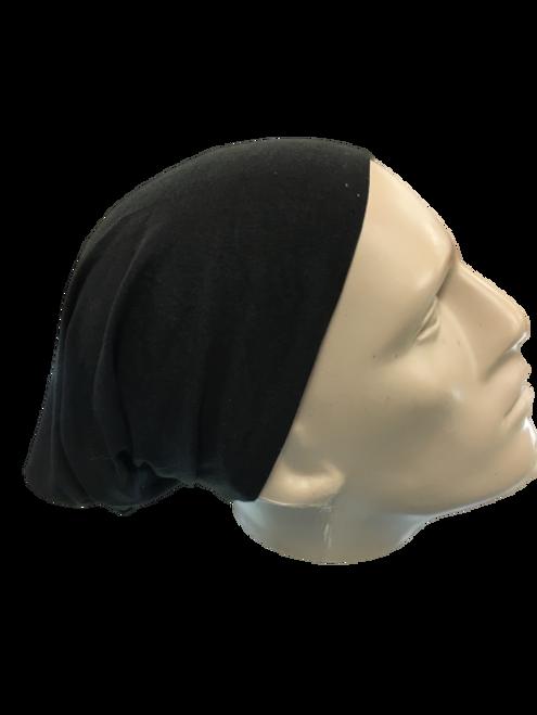 BLACK HEADWEAR/MASK