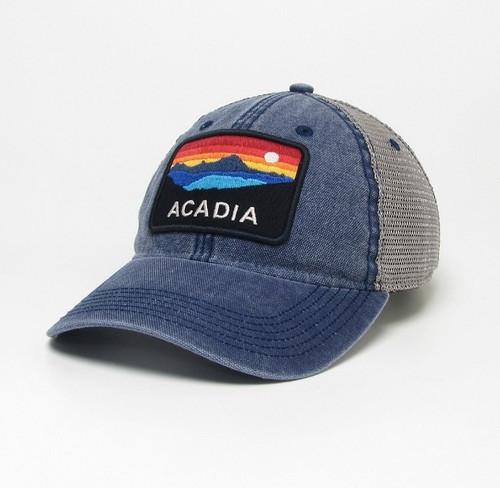 NAVY/GREY TRUCKER DTA ACADIA  HORIZON HAT-661654