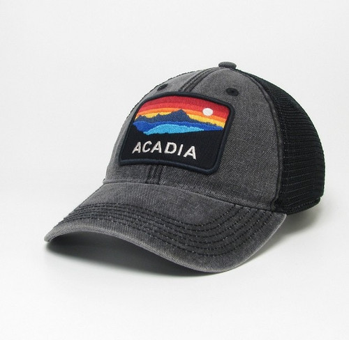 BLACK TRUCKER DTA ACADIA HORIZON HAT-661653