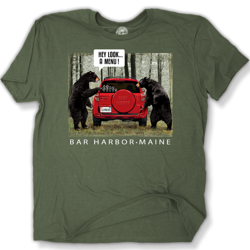 BEAR MENU T-SHIRT
