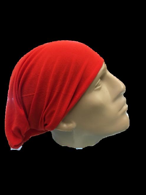 RED HEADWEAR/MASK