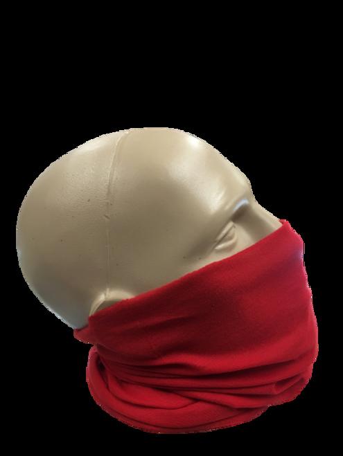 MAROON HEADWEAR/MASK