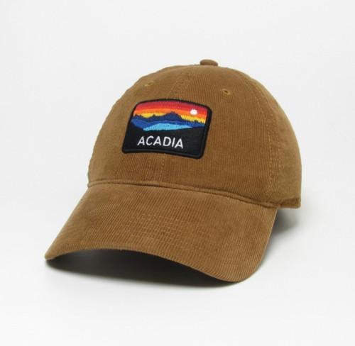 Saddle Relaxed Corduroy Hat