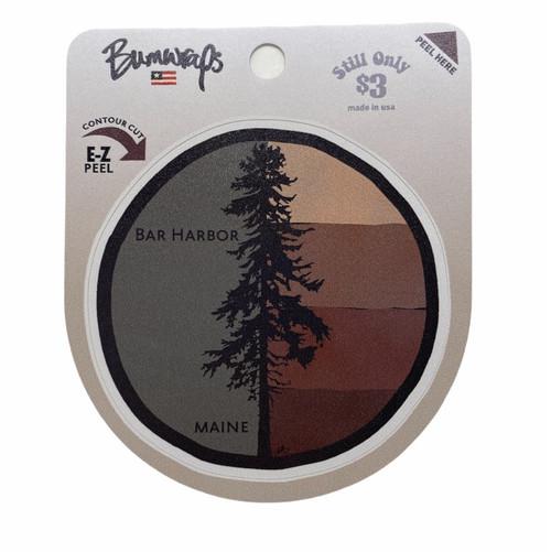 4 Bar Pine Sticker