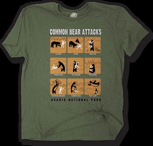 COMMON BEAR/ATTACKS T-SHIRT