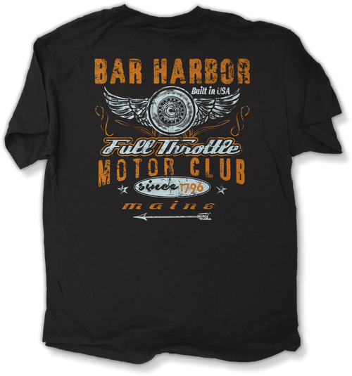 FULL THROTTLE MOTOR CLUB T-SHIRT