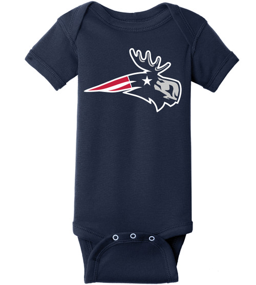 PATRIOT MOOSE ONESIE