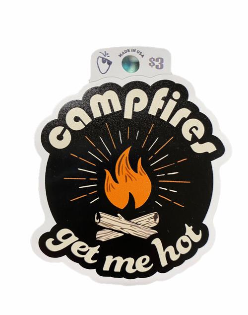 CAMPFIRES STICKER