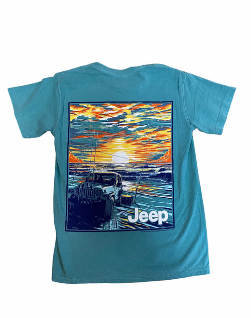 JEEP SURF FISHING T-SHIRT