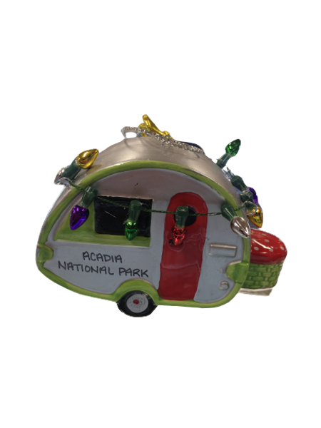 CAMPER WITH LIGHT ORNAMENT