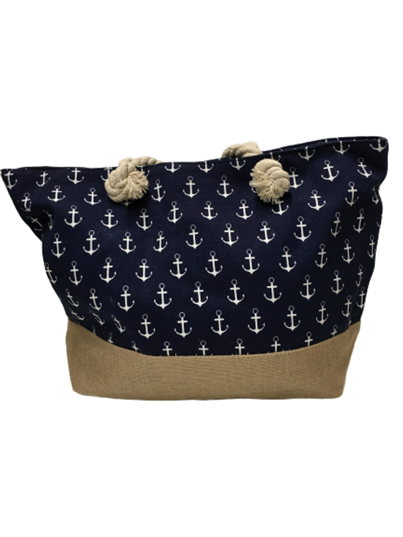 ANCHOR CANVAS BAG NAVY