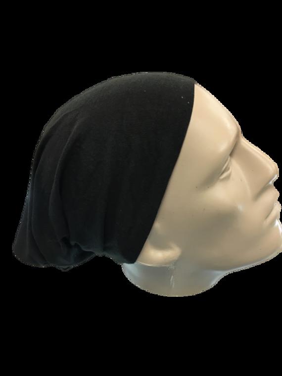 BLACK HEADWEAR