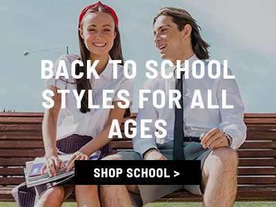 Back to School Size for all ages, Shop all shoes