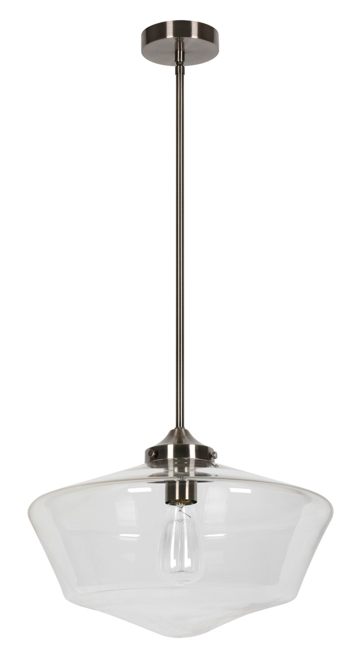Carson 400 Bc Clear Glass Pendant Lighting Direct Ltd