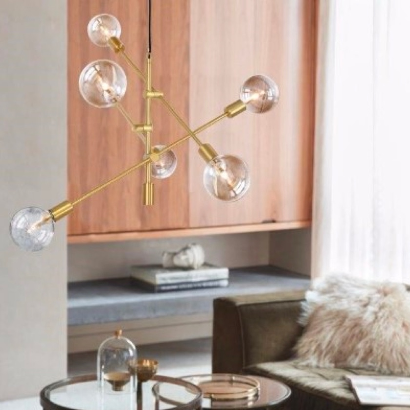 Bring mid-century modern lighting into your home